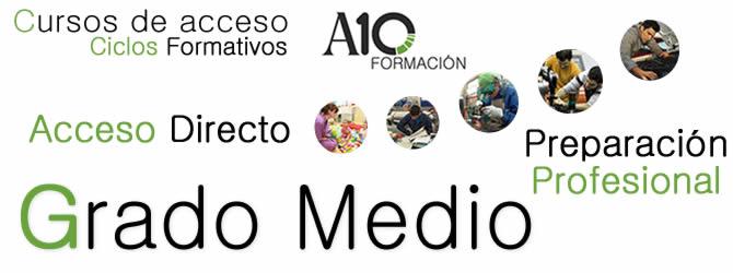 Curso De Acceso A Ciclo Formativo Grado Medio En Maálaga
